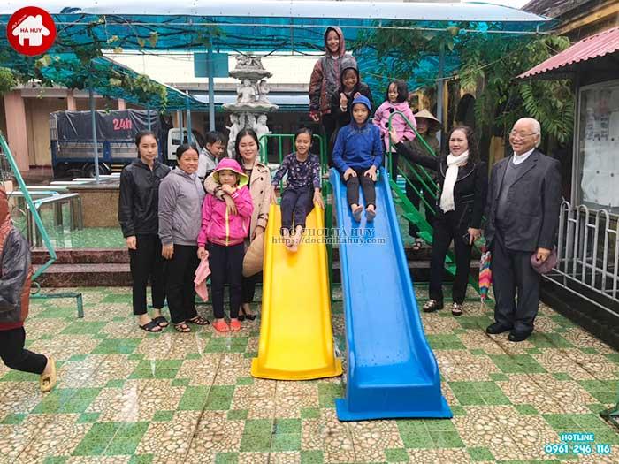 Sản xuất đồ chơi ngoài trời cho cô nhi viện tại Nam Định-3