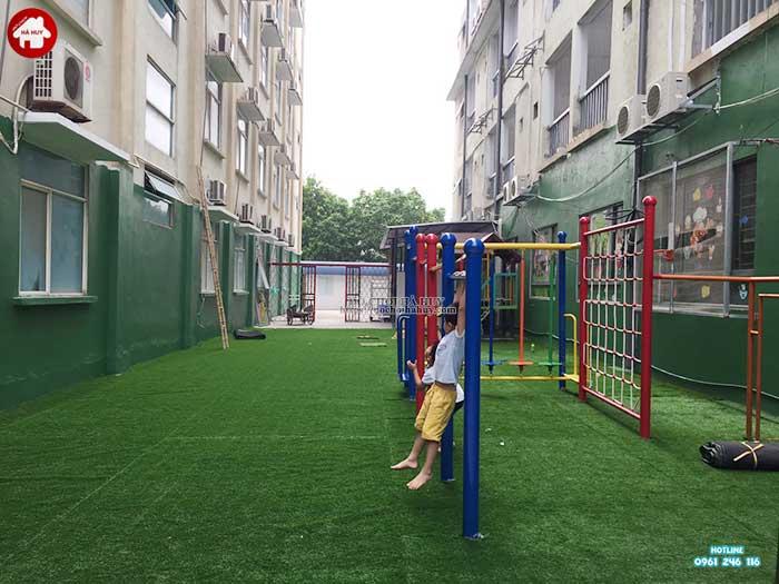 Sản xuất lắp đặt bộ vận động thể chất cho bé tại Hà Đông, Hà Nội-7
