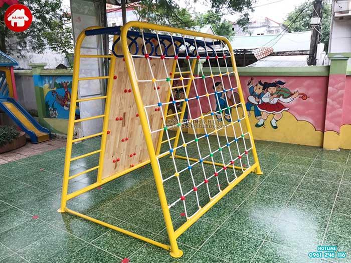 Sản xuất lắp đặt đồ chơi mầm non cho trường mầm non tại Hòa Bình-3