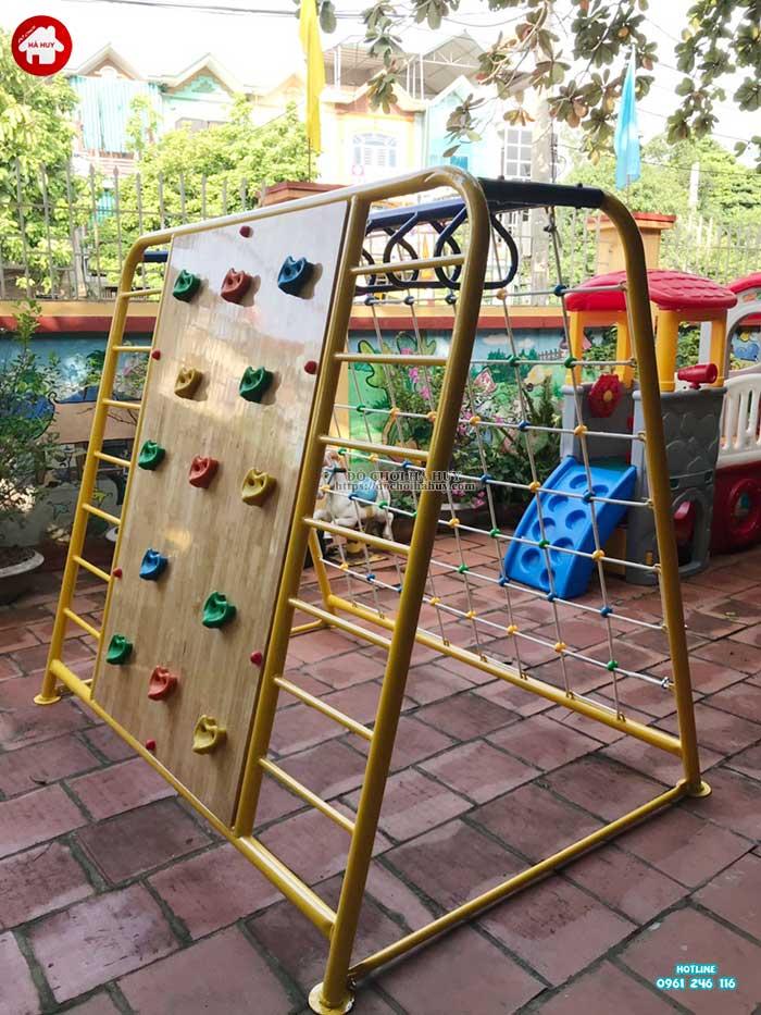 Sản xuất lắp đặt đồ chơi mầm non cho trường mầm non tại Hòa Bình-6