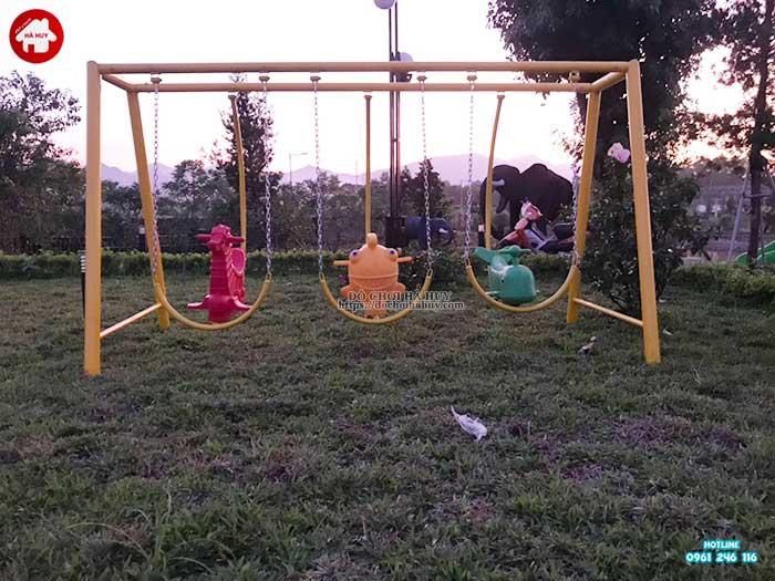 Sản xuất lắp đặt đồ chơi ngoài trời cho khách hàng tại Chương Mỹ, Hà Nội-5