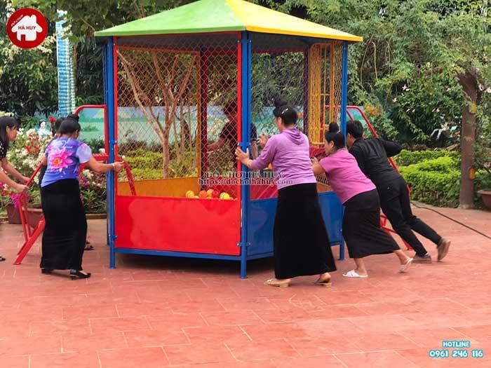 Sản xuất lắp đặt đồ chơi ngoài trời cho trường mầm non Mường Bú, Sơn La-5