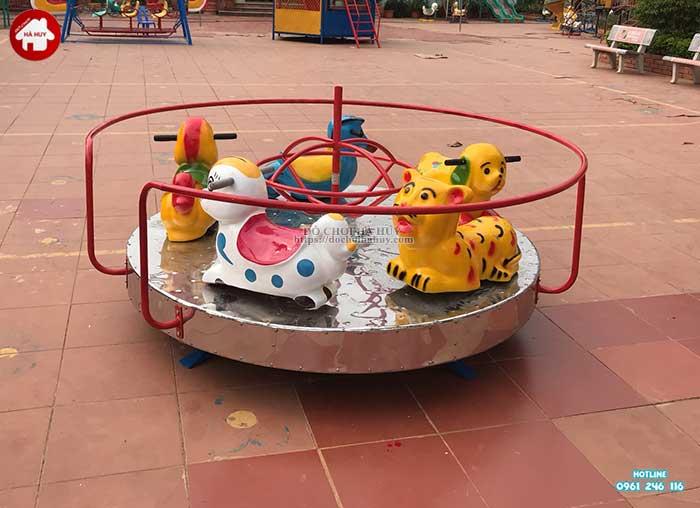 Sản xuất lắp đặt đồ chơi ngoài trời cho trường mầm non Mường Bú, Sơn La-9