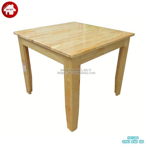 Bàn gỗ mầm non hình vuông HC1-014