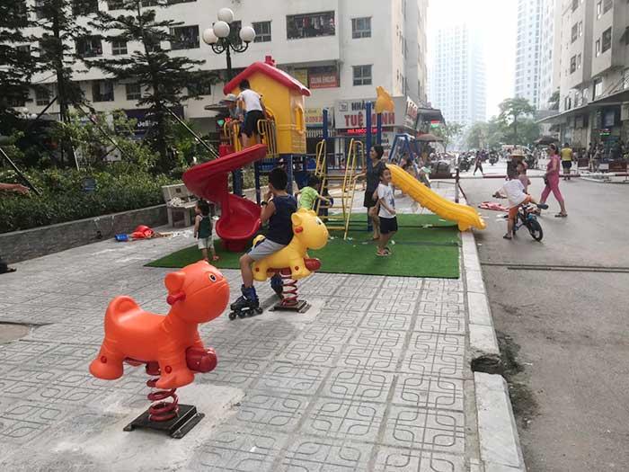 Cần mua những đồ chơi ngoài trời gì cho khu chung cư đô thị-2