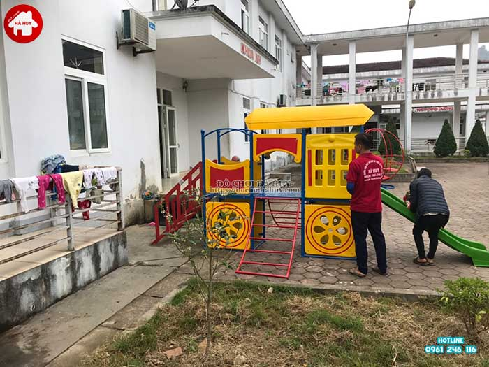 Sản xuất lắp đặt đồ chơi ngoài trời cho bệnh viện đa khoa Sapa, Lào Cai-4