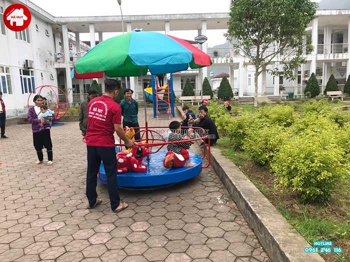 Sản xuất lắp đặt đồ chơi ngoài trời cho bệnh viện đa khoa Sapa, Lào Cai-5