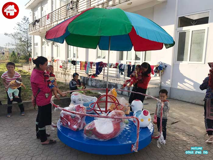 Sản xuất lắp đặt đồ chơi ngoài trời cho bệnh viện đa khoa Sapa, Lào Cai-6
