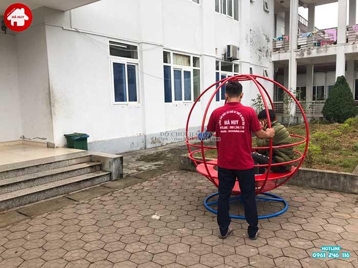 Sản xuất lắp đặt đồ chơi ngoài trời cho bệnh viện đa khoa Sapa, Lào Cai-9