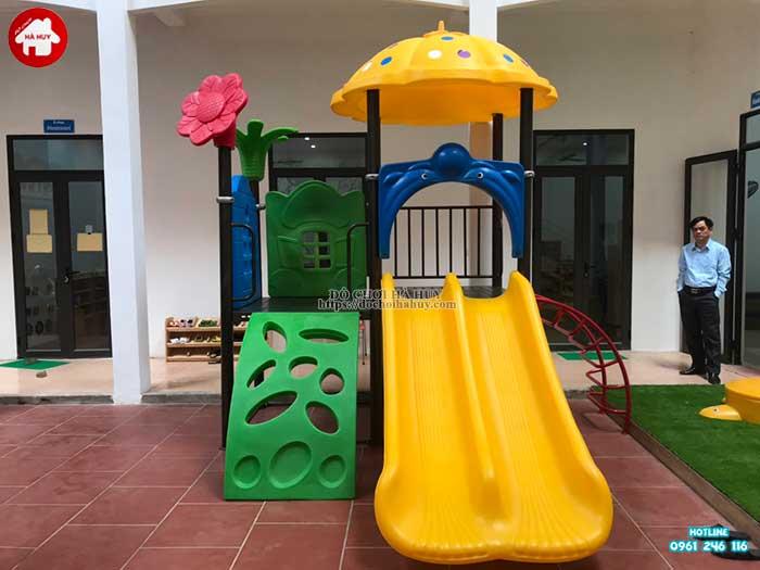 Sản xuất lắp đặt đồ chơi ngoài trời cho khách hàng tại Hòa Bình-5