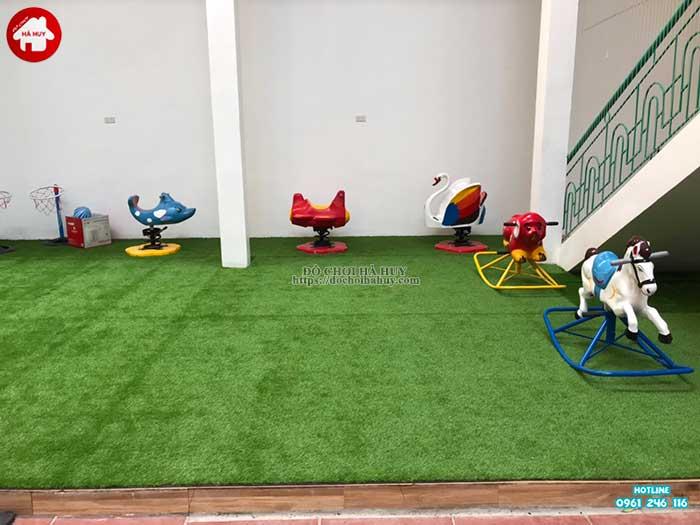 Sản xuất lắp đặt đồ chơi ngoài trời cho khách hàng tại Hòa Bình-6