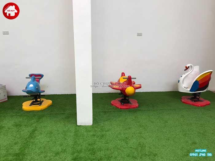 Sản xuất lắp đặt đồ chơi ngoài trời cho khách hàng tại Hòa Bình-7