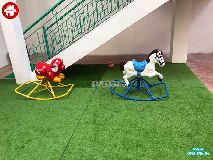 Sản xuất lắp đặt đồ chơi ngoài trời cho khách hàng tại Hòa Bình-8