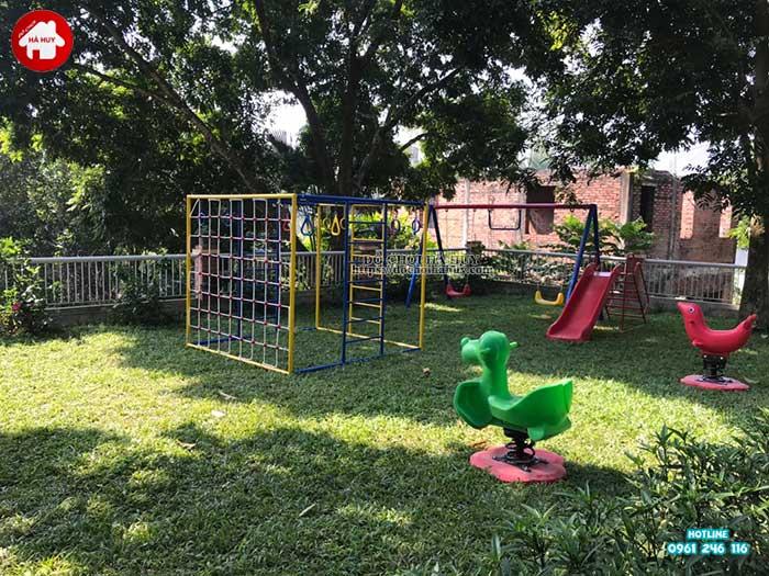 Sản xuất lắp đặt đồ chơi ngoài trời cho khách tại Ba Vì, Hà Nội-1