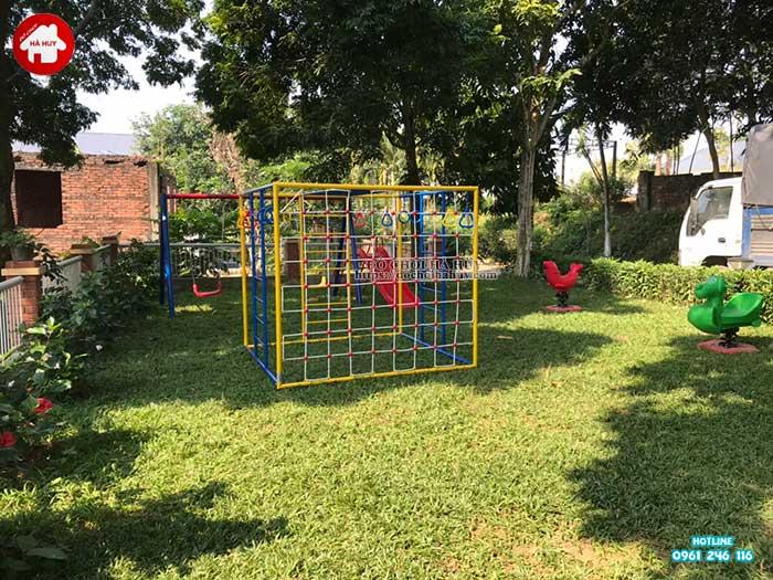Sản xuất lắp đặt đồ chơi ngoài trời cho khách tại Ba Vì, Hà Nội-2