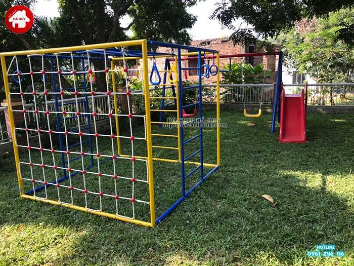 Sản xuất lắp đặt đồ chơi ngoài trời cho khách tại Ba Vì, Hà Nội-3