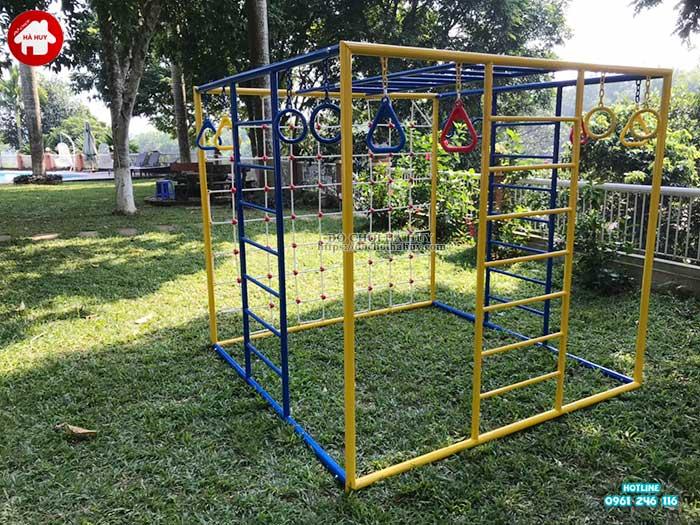Sản xuất lắp đặt đồ chơi ngoài trời cho khách tại Ba Vì, Hà Nội-4