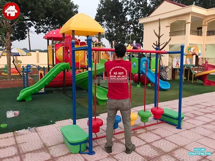 Sản xuất lắp đặt đồ chơi ngoài trời cho trường mầm non tại Hà Nội-5