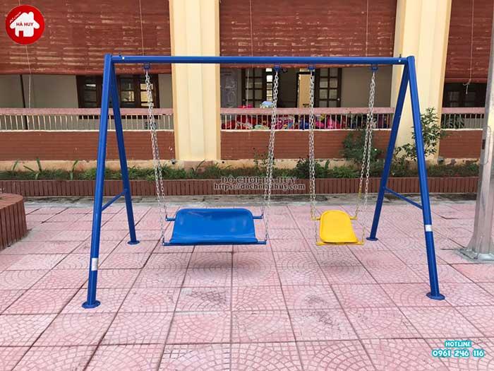 Sản xuất lắp đặt đồ chơi ngoài trời cho trường mầm non tại Hà Nội-8