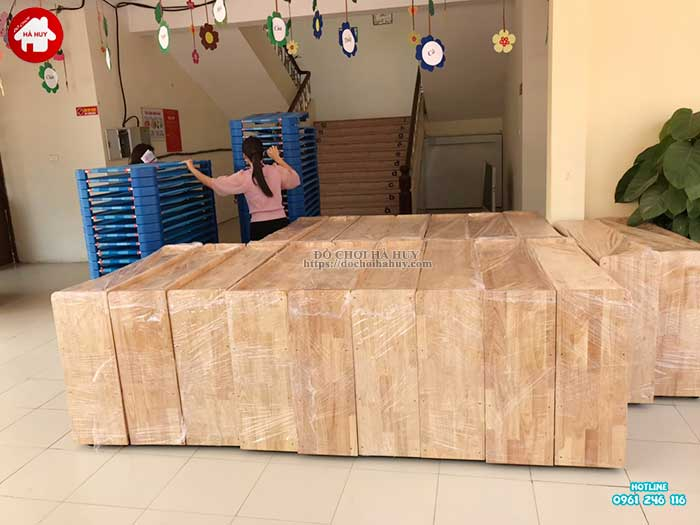 Sản xuất lắp đặt đồ chơi ngoài trời cho trường mầm non tại Hà Nội-9