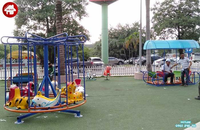 Sản xuất và lắp đặt đồ chơi ngoài trời cho BigC Trần Duy Hưng tại Hà Nội-2