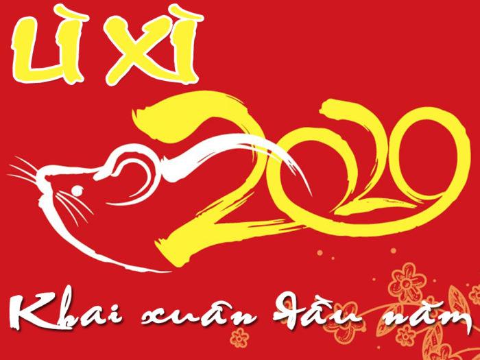 lì xì đầu năm 2020 Hà Huy