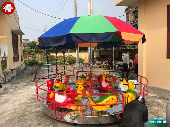 Sản xuất lắp đặt đồ chơi ngoài trời cho trường mầm non tại Thái Bình-5