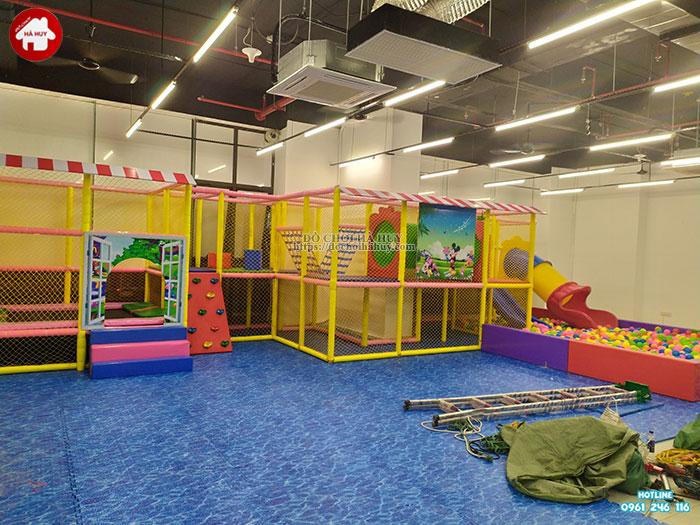 Sản xuất lắp đặt nhà liên hoàn trong nhà cho khách tại Hà Nội-3