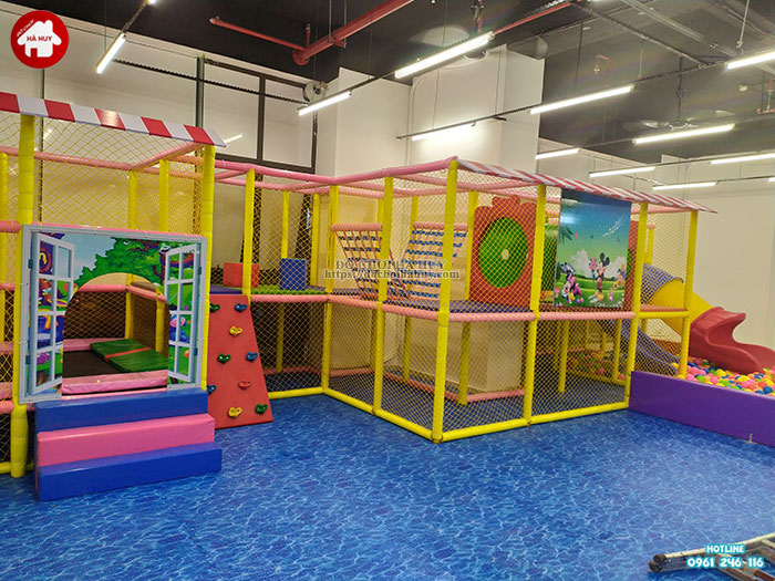 Sản xuất lắp đặt nhà liên hoàn trong nhà cho khách tại Hà Nội-5