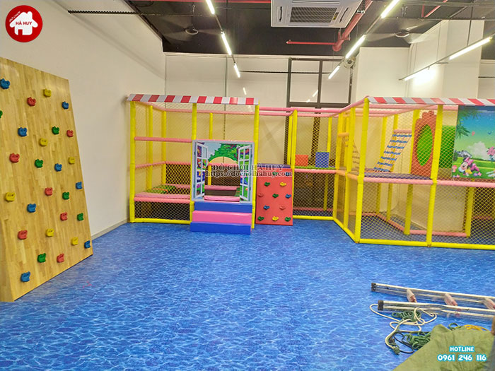 Sản xuất lắp đặt nhà liên hoàn trong nhà cho khách tại Hà Nội-7