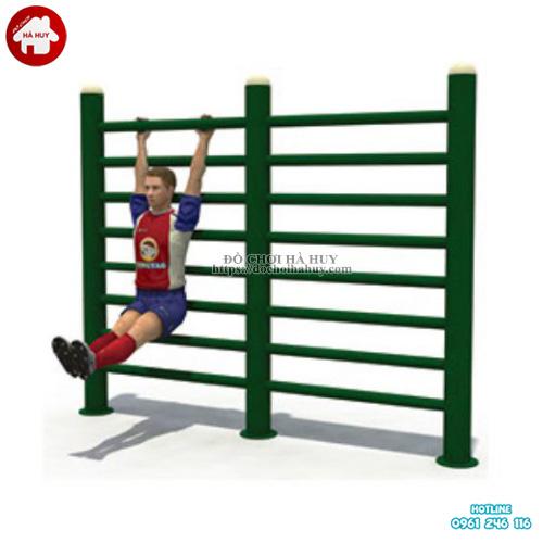 Bộ thang leo xà đu đa năng cho bé mầm non HB1-018