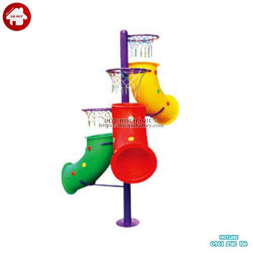 Cột ném bóng 3 rổ cho trường mầm non chất lượng HA6-034