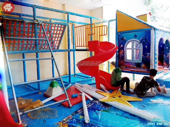 Mẫu nhà liên hoàn trong nhà cho khu vui chơi giải trí LH-027