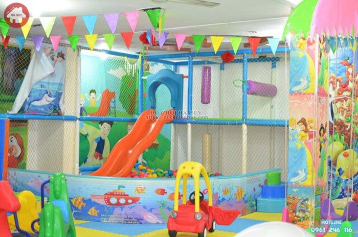 Lắp đặt khu vui chơi liên hoàn trong nhà cho khu vui chơi LH-026