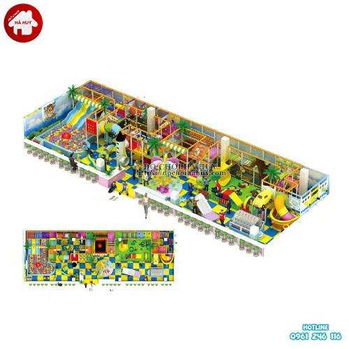 Mẫu nhà liên hoàn cho khu vui chơi trẻ em trong nhà LH-037