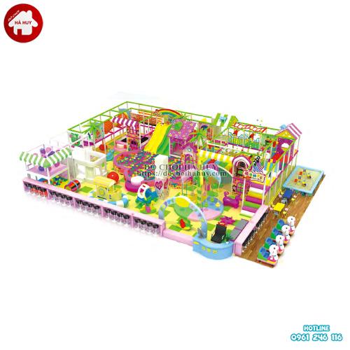 Mẫu thiết kế nhà liên hoàn trong nhà cho trẻ em LH-035
