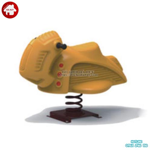 Mẫu nhún lò xo nhập khẩu cho trẻ em mẫu giáo HB2-303