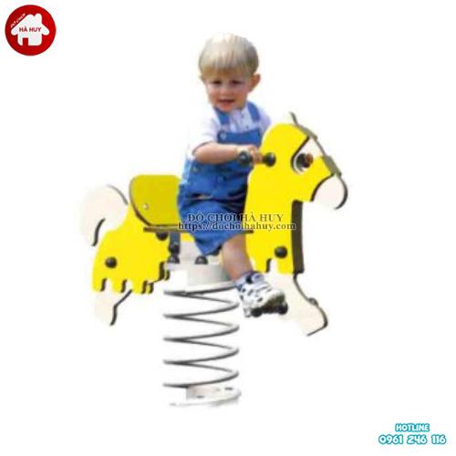 Mẫu thú nhún mầm non hình con ngựa giá rẻ HB2-341