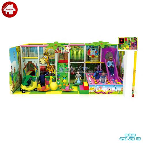 Nhà liên hoàn trong nhà cho bé giá rẻ LH-036