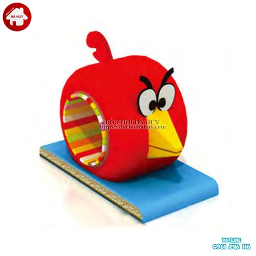Ống chui cho bé hình Angry Birds nhà liên hoàn PLH-006