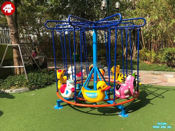 Sản xuất lắp đặt đồ chơi vận động ngoài trời cho khách tại Hà Nội-1