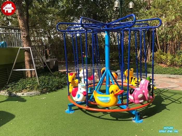 Sản xuất lắp đặt đồ chơi vận động ngoài trời cho khách tại Hà Nội-2