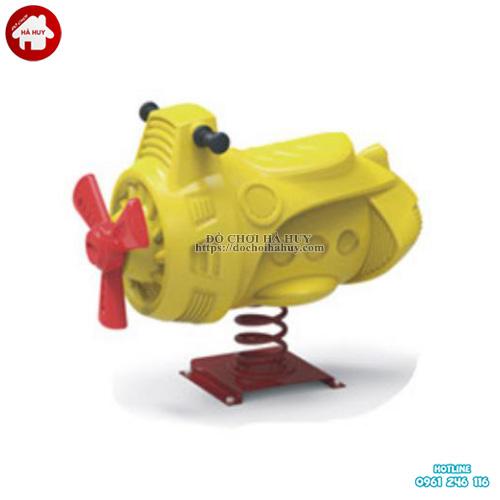 Thú nhún lò xo cho bé hình tàu ngầm HB2-300