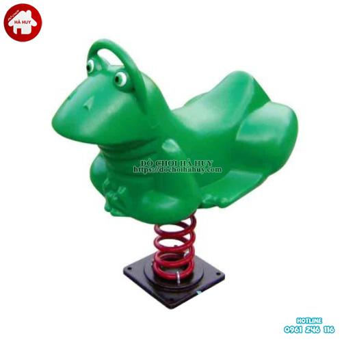 Thú nhún lò xo hình con ếch cho trẻ mẫu giáo HB2-358