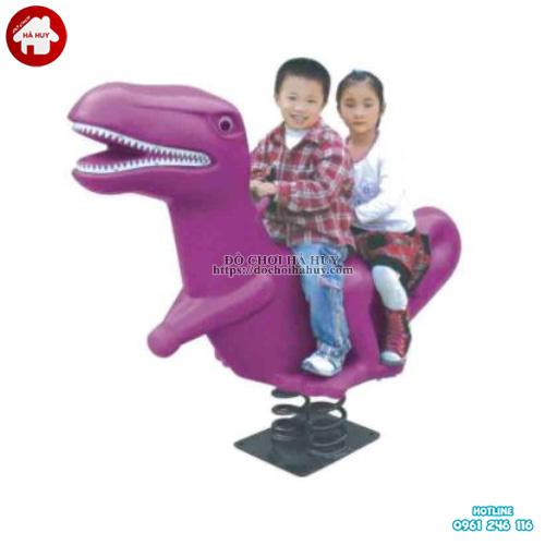 Thú nhún lò xo hình con khủng long giá rẻ HB2-355