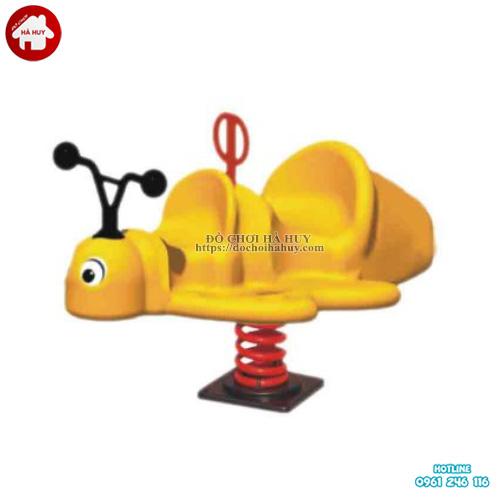 Thú nhún lò xo hình con ong cho bé mầm non HB2-353