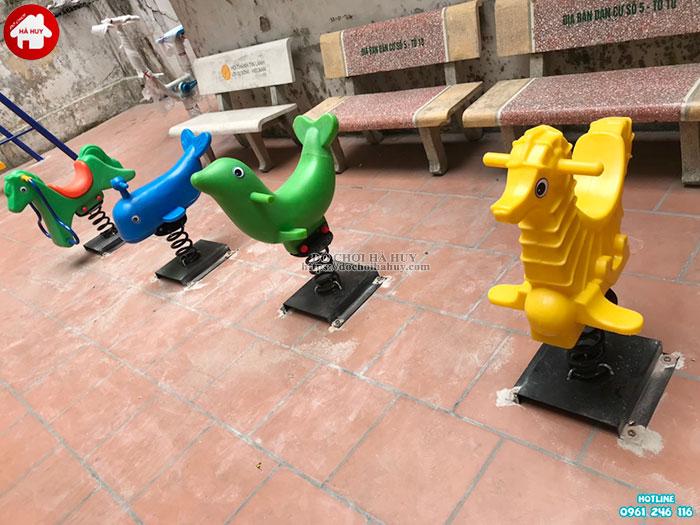 Sản xuất lắp đặt đồ chơi ngoài trời cho khách hàng tại Đông Anh, Hà Nội-5
