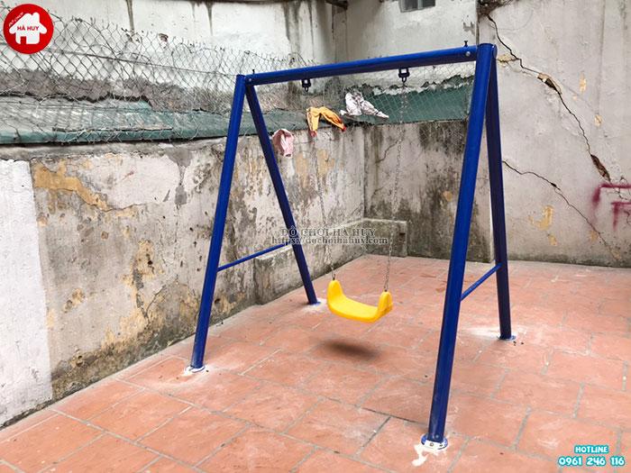 Sản xuất lắp đặt đồ chơi ngoài trời cho khách hàng tại Đông Anh, Hà Nội-6