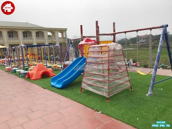 Sản xuất lắp đặt đồ chơi ngoài trời cho bé mầm non tại Hà Tĩnh-3