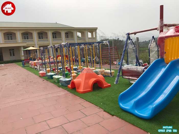 Sản xuất lắp đặt đồ chơi ngoài trời cho bé mầm non tại Hà Tĩnh-4